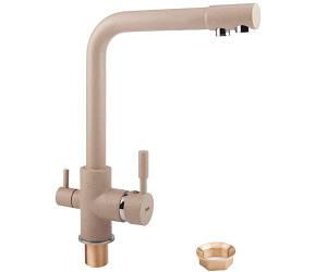 Смеситель для кухни с поворотным изливом и подключением к фильтру Potato P4098-9