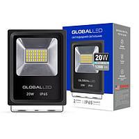 Светодиодный LED прожектор GLOBAL 1-LFL-002 20W 20Вт