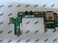 Плата разъемов USB аудио картрид Asus Eee PC 1201K