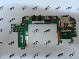 Плата разъемов USB аудио картрид Asus Eee PC 1201K, фото 2