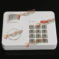 PIR сигнализация беспроводной датчик движения с клавиатурой безопасности для дома дверь гаража сарай
