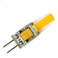 Светодиодная LED лампа Biom G4 5W 220V 5Вт 220В тёплая