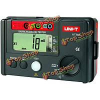UNI-T UT582 цифровой RCD тестер токов утечки тока утечки выключатель автоматический пандус