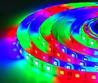 Светодиодная LED лента SMD 5050-60 RGB герметичная IP65 MAGIC