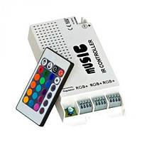 RGB инфракрасный контроллер 9А 108Вт 9A 108W music