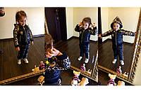 Детский спортивный теплый костюм  12ПН-4020-55