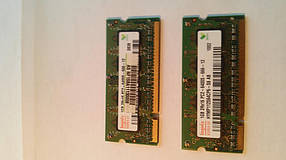 Память 1GB DDR2