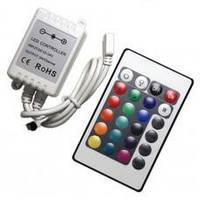 RGB инфракрасный контроллер 6А 72Вт  6A 72W 24 кнопки