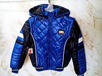 Детская демисезонная куртка-жилет для мальчика, р. 116-146