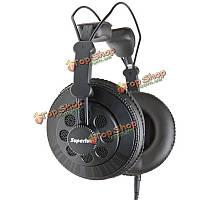 Superlux hd668b профессиональный полуоткрытый динамический оголовье студия стандарт наушники для DJ Music
