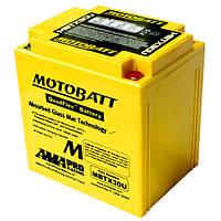 Аккумулятор для мотоцикла гелевый MOTOBATT  AGM 32Ah  385A  размер 166 x 126 x 175 мм с проставкой  MBTX30U