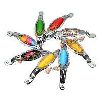 Цинковый сплав кристалл купе ручка шкафа ручки оборудование