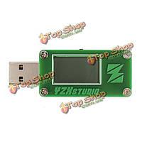 USB 2.0 ЖК-монитор кулонометр питания тестер qc3.0 мощности напряжения тока высокого разрешения метр