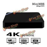 Мини m8s Amlogic S905 Android 5.1 4k h.265 2gb / 8gb Б.Т. 4.0 100m WiFi KODI 2.4 г TV Box Android мини-ПК