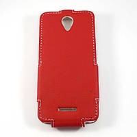 Чехол-флип для Fly IQ4514 Quad Evo Tech 4 Красный Sirius