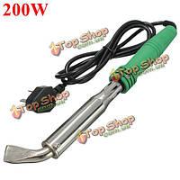 220В 200Вт электрический сварочный инструмент паяльник с изогнутым наконечником бессвинцовое