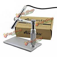 Andonstar 500x 8 LED HD реальное 2mp цифровой микроскоп с лупой USB металлическая стойка базы ручку эндоскоп