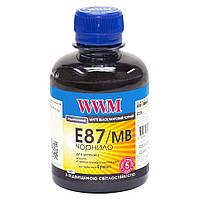 E87/MB Чернила (Краска) Matte Black Светостойкие Водорастворимые (Водные) 200г