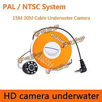 CR-006h HD 600TVL подводная рыбалка камера рыбообнаружитель подледная рыбалка камера с 15м/30м кабеля