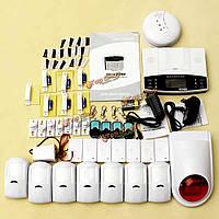 Беспроводная GSM автодозвон смс дом безопасности офиса сигнализация взломщик поделки набор