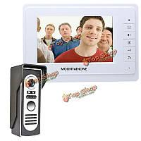 SYSD sy819m11 7-дюймов TFT видео домофон дверной звонок Интерком комплект с 1 камерой 1 монитора ночного видения