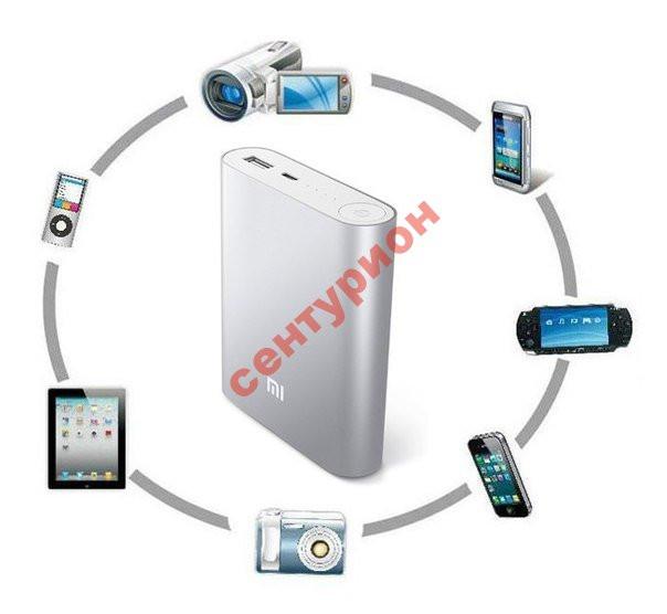 Зарядка Power Bank XiaoMi повер банк10400mAh внешний аккумулятор +бокс 4