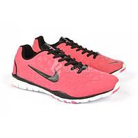 Кроссовки женские Nike Free Tr Fit 3 розовые , Малиновый, 40