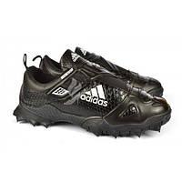 Кроссовки мужские черные Adidas «Reptile Black» на липучке, Черный, 46