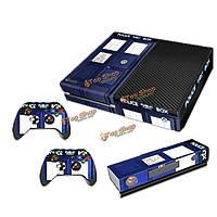 Наклейка обложка кожи наклейки декор для PlayStation Xbox одной консоли + 2 контроллера