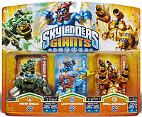 Skylanders Giants Prism Break Lightning Rod Drill Sergeant Series 2 2 2