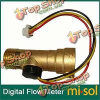 DC Датчик водонагревателя реле потока 5V меди