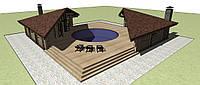 Проект Банного комплекса, фото 1