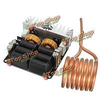Индукционный нагреватель высокой частоты 20а 1000Вт ZVS 12-48v