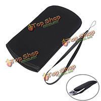 Черный мягкой тканью, чехол чехол сумка защитный чехол для нового Нинтендо 3dsll / XL