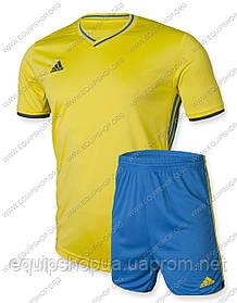 Футбольная форма Adidas Condivo16 желто-синяя