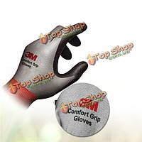 Комфорт Износоустойчиво защита препятствующую скольжению перчатки из нитрила перчатки для велосипеда и т.д. барбекю