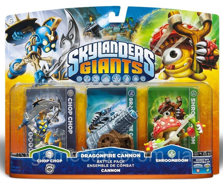 Skylanders Giants Dragonfire Cannon Battle Pack Chop Chop Cannon Shroomboom Series 2 1 1 - GameStar в Киеве