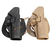 Тактическая сокрытие кобуры правой рукой сумка тактические наборы моделирования для Glock 17