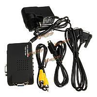 CCTV DVD DVR камера TV BNC S-Video вход VGA для вывода VGA PC Converter адаптер
