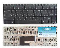 Оригинальная клавиатура для ноутбука MSI EX460, CR400, X300, X320, X340, X400, X410 series, black, ru