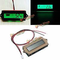12v свинцово-кислотные литий Lipo мощность батареи ЖК-индикатор тестера voltmete