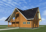 Проект гостевого Дома с Банным комплексом, фото 2