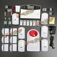 Автодозвон Беспроводная GSM LCD для домашнего дома сигнализация охранной безопасности офиса
