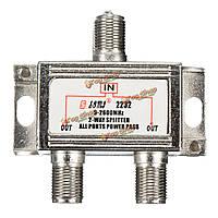 3шт 2 способ 5-2600МГц телевидение спутниковое Кабельный разветвитель объединитель для неба Virgin Media сигнала