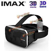 """""""парк v3 3D очки виртуальной реальности"""" шлем для 4.0 Google картонные коробки с 6.0 - дюймовый смартфон"""