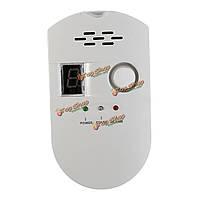 LED Чувствительность сенсорный дисплей монитора тревоги детектора утечки газа сигнализации LPG СПГ угля