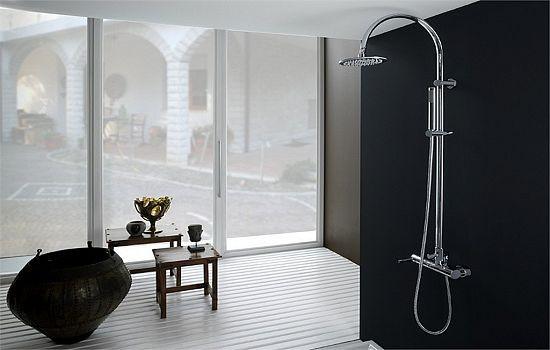 Как выбрать душевую систему с тропическим душем?