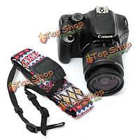 Универсальный круто камера плеча шеи ремень ремешок для SLR DSLR Nikon CANON SONY