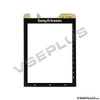 Тачскрин (сенсор) Sony Ericsson G700, черный