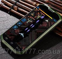 Смартфон Hummer H8 green. IP68 (2SIM) 1/4Гб 2/8Мп 3G оригинал Гарантия!